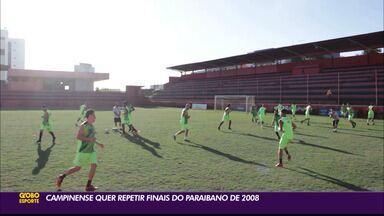 Preparação do Campinense para o primeiro jogo da final contra o Treze - Raposa está pronta para a decisão contra o Galo