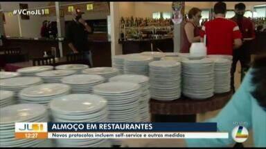Restaurantes estão liberados para fornecer o self-service aos clientes durante pandemia - Restaurantes estão liberados para fornecer o self-service aos clientes durante pandemia