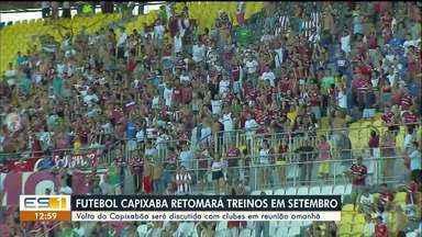 Volta do Capixabão será discutida com clubes nesta quinta-feira (13), no ES - Veja a reportagem.