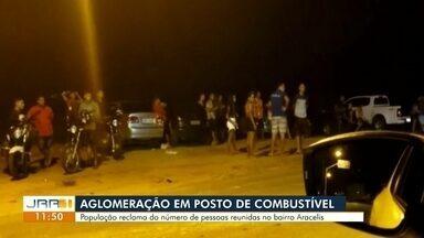 Moradores denunciam som alto e aglomeração em posto de combustíveis em Boa Vista - Posto de combustíveis fica no bairro Aracélis, zona Oeste da capital.