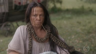 Germana diz para Hércules que não quer trabalhar, mas sim ser atriz - Hugo garante a Elvira que Licurgo e Germana não terão a taberna de volta