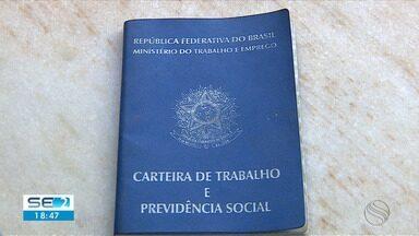 Cai o número de seguro-desemprego em Sergipe - Cai o número de seguro-desemprego em Sergipe.