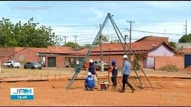 Obras do hospital municipal de Araguaína são iniciadas - Obras do hospital municipal de Araguaína são iniciadas