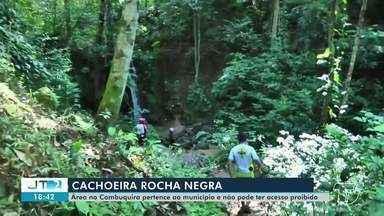 CHDU conclui demarcação da Fazenda Rocha Negra e garante que área pertence ao município - Trabalhos de georreferenciamento e demarcação da área foram finalizados no dia 3 de agosto.