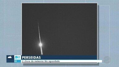Especialistas explicam a chuva de meteoros tão aguardada - Especialistas explicam a chuva de meteoros tão aguardada