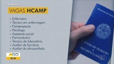 Hospital de Campanha de Itumbiara oferece 100 vagas de emprego - Veja como se candidatar.