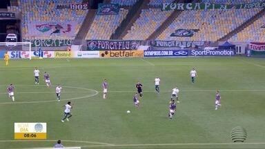 Jogo entre Palmeiras e Fluminense acaba empatado - Confira os destaques do esporte com Paulo Taroco.