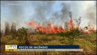 Lei municipal estipula multa para quem provocar incêndio em Araguaína - Lei municipal estipula multa para quem provocar incêndio em Araguaína