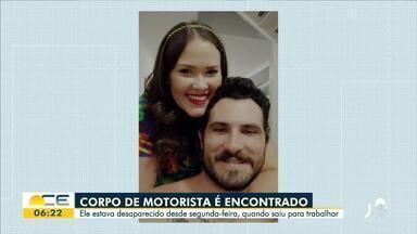 Motorista de aplicativo desaparecido é encontrado morto - Saiba mais em: g1.com.br/ce