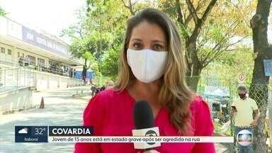 Jovem de 15 anos é internada em estado grave após sofrer agressão - Uma jovem de 15 anos está internada em estado grave no hospital da Posse, Nova Iguaçu, depois de ser encontrada desacordada.