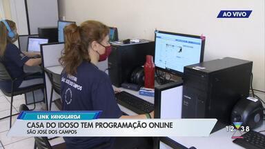 Casa do idoso de São José tem programação online - Veja como participar.