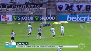 Veja como será a rodadas do futebol mineiro, neste fim de semana - Atlético e Cruzeiro estão invictos desde a volta dos jogos, pós-pandemia.