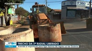 Prefeitura libera trecho da 2ª Radial em Goiânia - Avenida é importante para ligar bairros da região sul de Goiânia.
