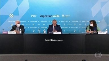 Governo da Argentina prorroga a quarentena até 30 de agosto - As medidas de confinamento vão ser mais rígidas no interior da Argentina.