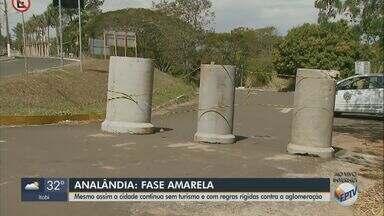 Analândia mantém suspensão do turismo mesmo na fase amarela - Cidade tem 38 casos de Covid-19 e nenhuma morte.