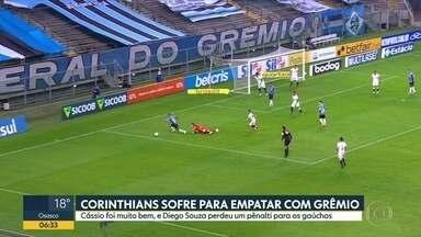 As notícias do esporte, com Alexandre Oliveira - O desempenho dos times paulistas no Brasileirão.