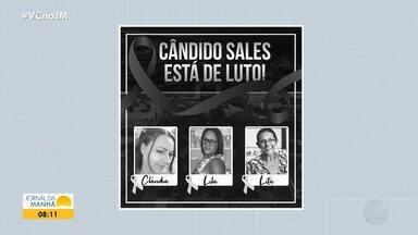 Três mulheres da mesma família morrem contaminas de Covid-19 em uma semana - Situação aconteceu na cidade de Cândido Sales, no sudoeste da Bahia.