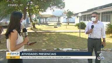 Covid-19: Governo do Estado retoma atendimentos nas repartições públicas no Amapá - Covid-19: Governo do Estado retoma atendimentos nas repartições públicas no Amapá