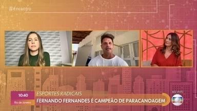 Jovem amputada faz vídeos de maquiagem e encanta na web - Fernando Fernandes é campeão de paracanoagem