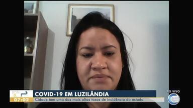 Taxa de incidência da Covid-19 em Luzilândia é quase o dobro da capital - Taxa de incidência da Covid-19 em Luzilândia é quase o dobro da capital