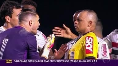 Crônica do Jogo: São Paulo começa bem, mas perde para o Vasco por 2 a 1 - Crônica do Jogo: São Paulo começa bem, mas perde para o Vasco por 2 a 1
