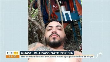 Caucaia tem em média um assassinato por dia - Saiba mais em g1.com.br/ce