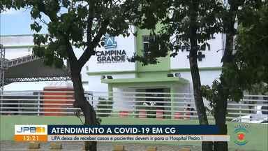 Pacientes de Campina Grande devem ir ao Hospital Pedro I para atendimento a Covid-19 - UPA deixa de receber casos da doença.