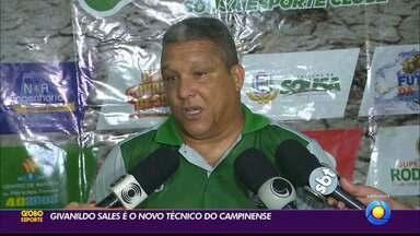 Campinense contrata Givanildo Sales, ex-técnico do Sousa - Campinense contrata Givanildo Sales, ex-técnico do Sousa