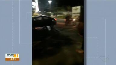 Vídeo mostra acidente em Colatina, no ES - Veja na reportagem.