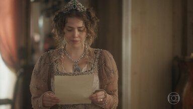 Leopoldina escreve uma carta a Dom Pedro - Joaquim decide entregá-la ao príncipe