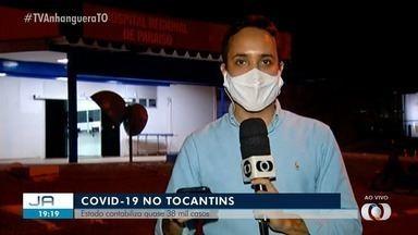 Tocantins passa dos 38 mil casos de coronavírus - Tocantins passa dos 38 mil casos de coronavírus
