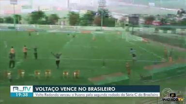 Volta Redonda vira sobre o Ituano com gols no fim e vence a primeira na Série C - Times se enfrentaram na tarde desta segunda-feira, em partida que encerrou a segunda rodada do grupo B.