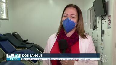 Hemonúcleo de Angra dos Reis precisa de doação de sangue - Demais unidades da região também passam por situação parecida, com a diminuição nas doações causada pela pandemia do novo coronavírus.