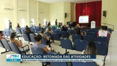 Aulas na rede municipal iniciam de forma remota em Santarém - Confira.