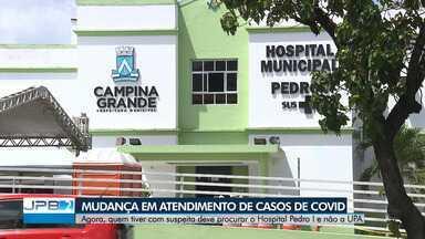 Casos suspeitos de Covid-19 serão atendidos no Hospital Pedro I, em Campina Grande - Atendimentos não serão mais feitos na UPA do Alto Branco.