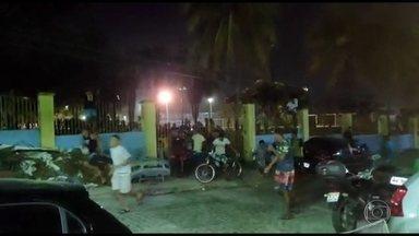 Aglomeração termina em confusão após chegada da polícia no Recife - Moradores contaram que o parque recebia um encontro de passinho, mas as aglomerações com mais de dez pessoas estão proibidas no estado.