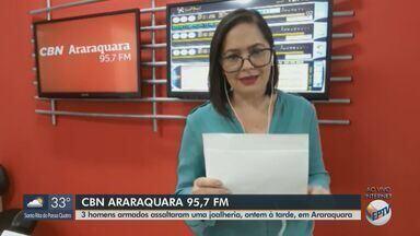 Funcionário da Vigilância Sanitária é a 24ª morte por Covid-19 em Araraquara - Mais informações com a apresentadora da CBN Paula Cardoso.