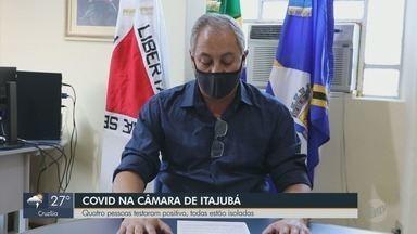 Câmara de Itajubá (MG) confirma casos positivos de Covid-19 - Câmara de Itajubá (MG) confirma casos positivos de Covid-19