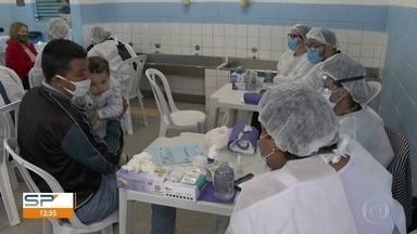 Prefeitura e Governo fazem testes da Covid-19 na Brasilândia - Os testes serão feitos em 1.200 moradores da região até amanhã, quinta (19).