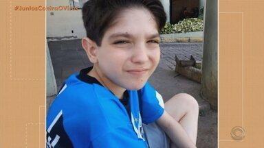 Adolescente de 14 anos morre por coronavírus em Santa Maria - Leonardo Comoretto tinha problemas pulmonares pré-existentes e estava internado desde o dia 16 de agosto.