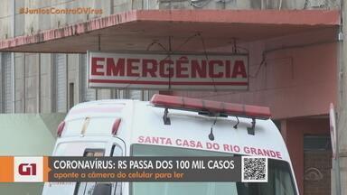 Santa Casa de Rio Grande recebe doação de R$ 400 mil de empresa - Valor será usado para comprar equipamentos para habilitar mais dez leitos semi-intensivos no hospital.