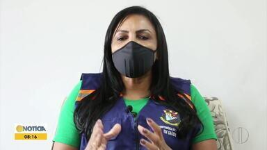 Caratinga atinge mil infectados por Covid-19 - Secretária Municipal de Saúde reforçou a necessidade dos cuidados para evitar maior disseminação da doença.
