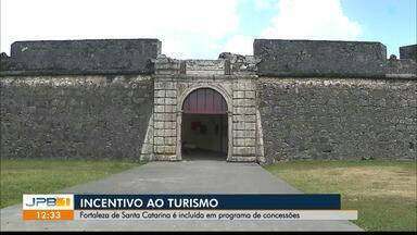 Fortaleza de Santa Catarina, em Cabedelo, PB, é incluída em programa de concessões - Programa é de incentivo ao turismo.