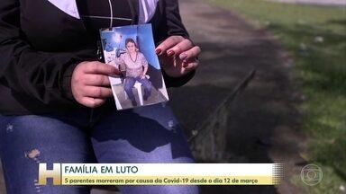 Família da primeira mulher que morreu com Covid-19 fala sobre o drama da perda - Dona Rosana Aparecida Urbano morava em São Paulo e tinha 57 anos. A doença ainda matou a mãe, o pai e os dois irmãos de dona Rosana.
