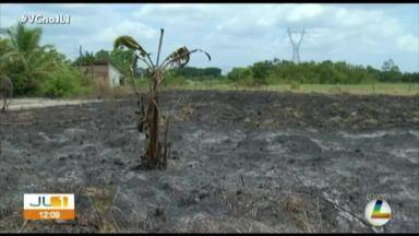 Queimadas assustam moradores de Santa Izabel do Pará - Queimadas assustam moradores de Santa Izabel do Pará
