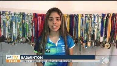 Atletas do Badminton voltam às atividades em Timon - Atletas do Badminton voltam às atividades em Timon
