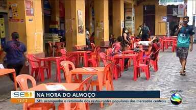 Mercados Centrais são reabertos em Aracaju - Mercados Centrais são reabertos em Aracaju.