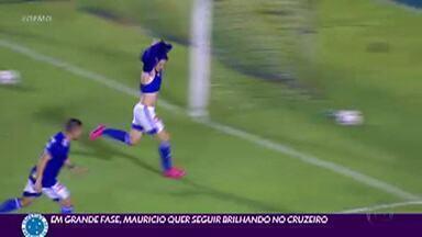 Garoto prodígio, Maurício vive boa fase no Cruzeiro - Cria da base, Maurício está em alta com o técnico Enderson Moreira