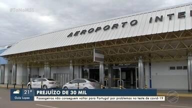Passageiros não conseguem voltar para Portugal por problemas no teste de covid - Covid-19