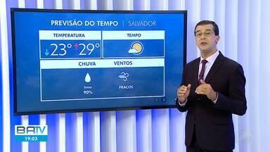 Previsão do tempo: Salvador vai amanhecer com sol na quinta-feira - Confira a meteorologia para outras partes da Bahia.